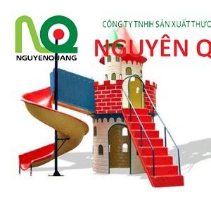 04 - bộ cầu trượt lâu đài