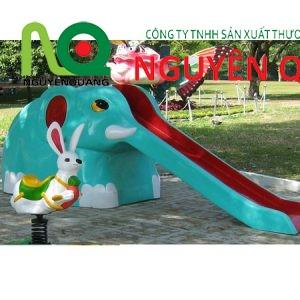 10 cầu trượt con voi